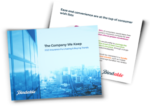 Bindable's Ebook 2021 Insurance Purchasing & Buying Trends