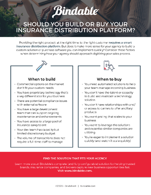 Build or Buy Digital Insurance Platform